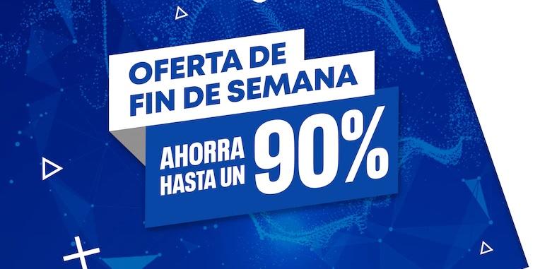 La PS Store revela sus Ofertas de Fin de Semana con descuentos de hasta 90%