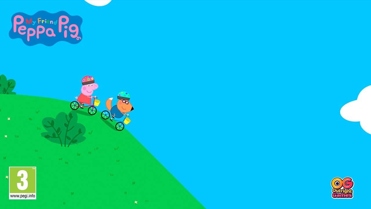 My Friend Peppa Pig muestra su gameplay en un nuevo tráiler