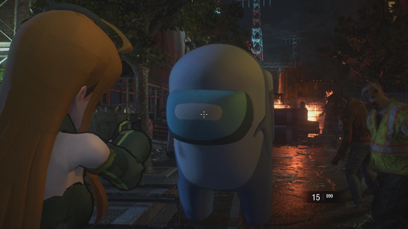 Mod de Resident Evil 3 Remake transforma a Nemesis en el impostor de Among Us