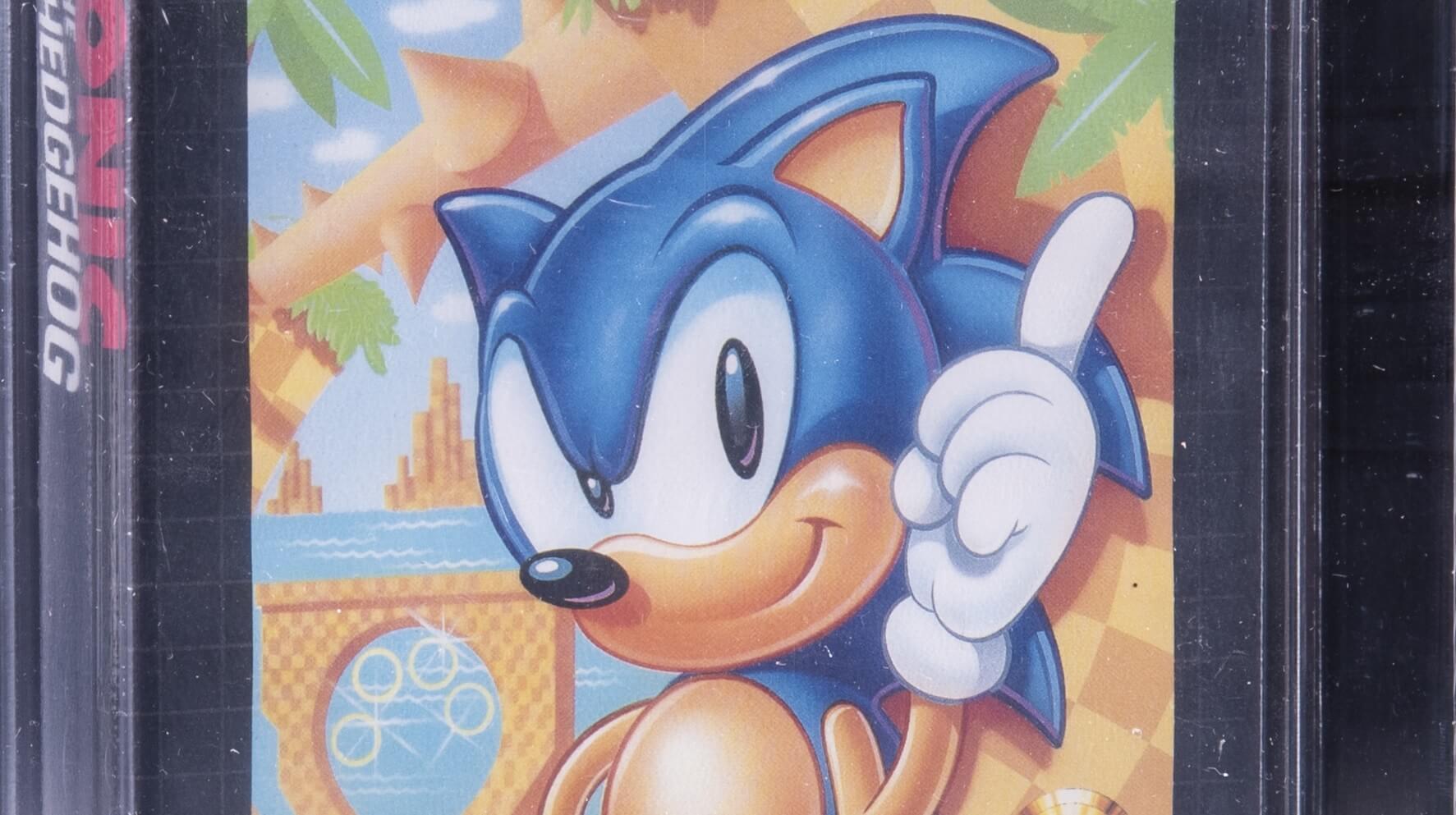 Venden una copia de Sonic the Hedgehog por 430,500 dólares y su creador lo tacha de estafa