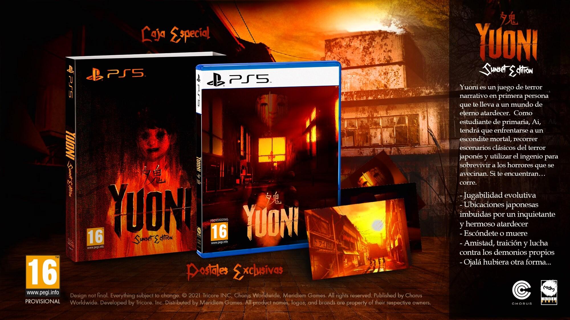 El terror japonés de Yuoni llegará en formato físico a PS5 en diciembre