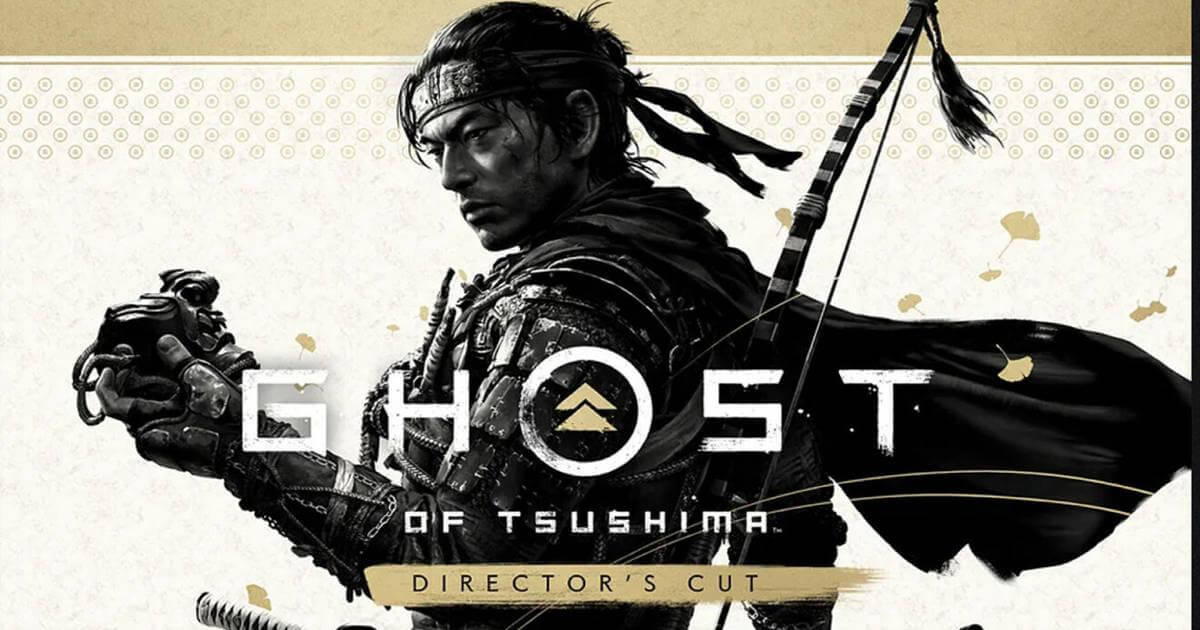 Ghost of Tsushima Director´s Cut Portada