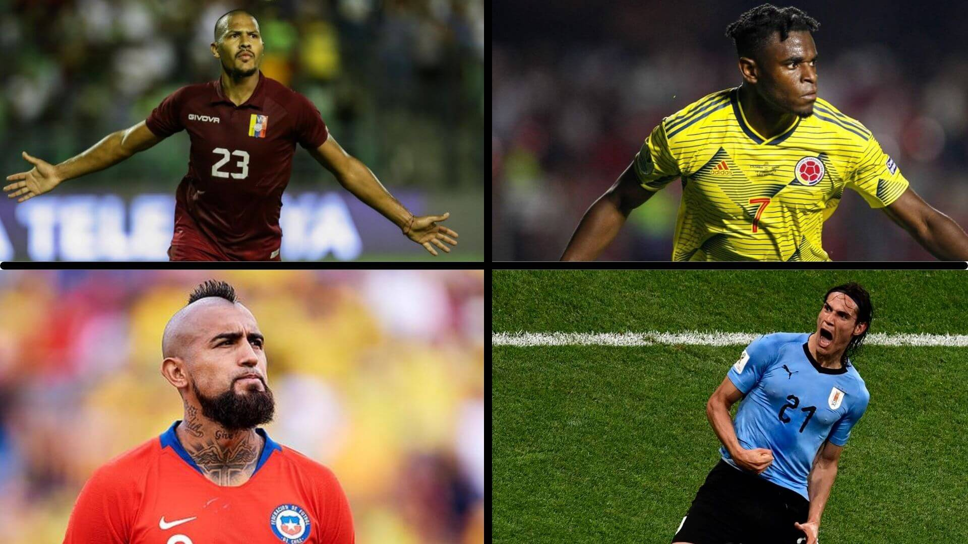 FIFA 22 ha eliminado 8 selecciones de Sudamérica