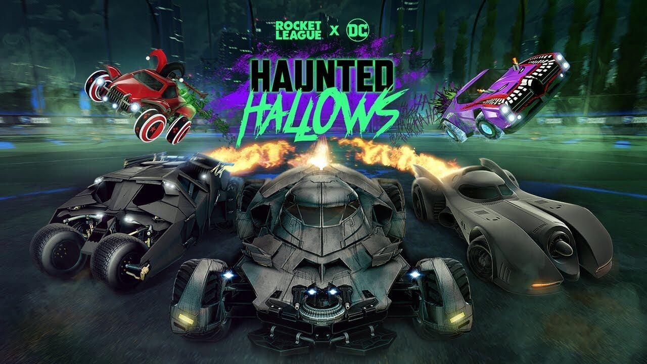 Batman regresa a Rocket League con el evento Haunted Hallows