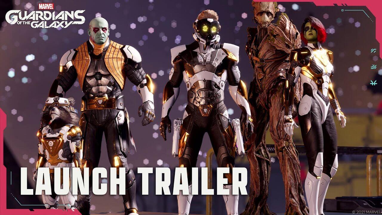 Marvel's Guardians of the Galaxy muestra su ritmo en su tráiler de lanzamiento