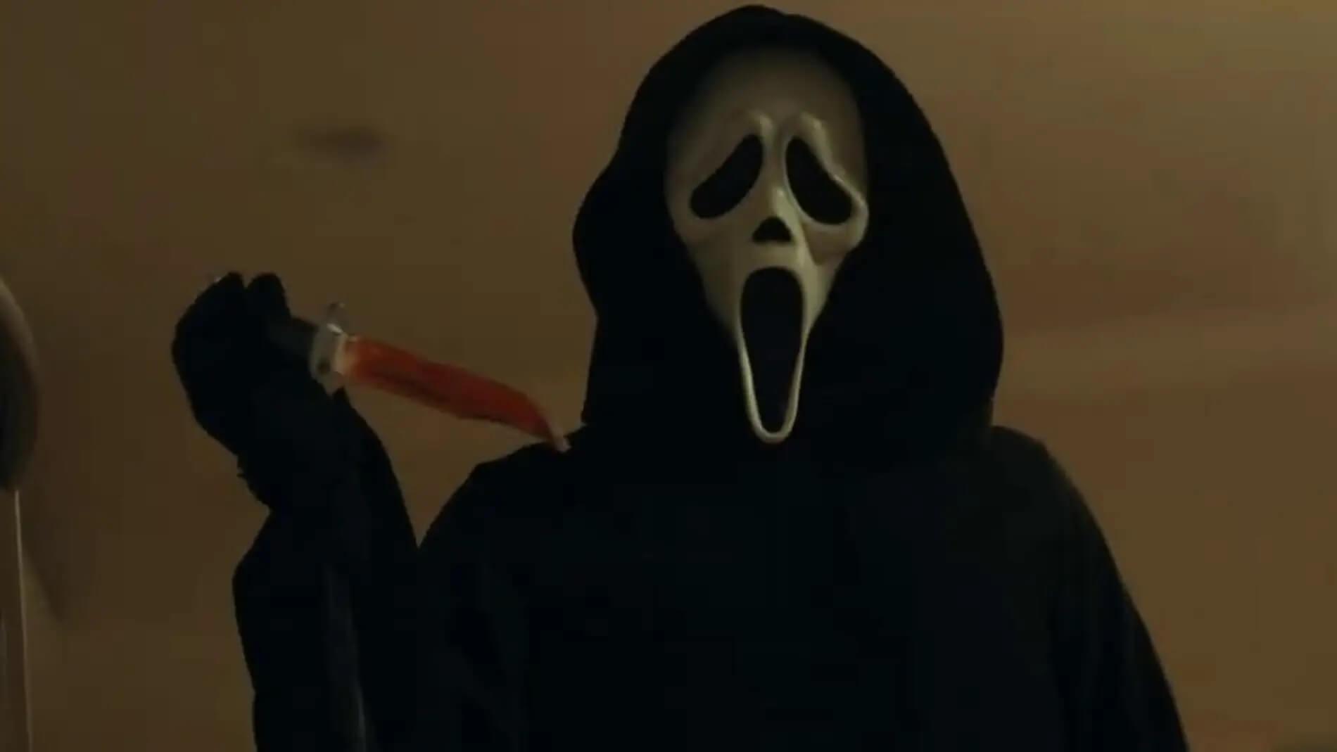 Ghostface vuelve a la acción en el primer tráiler de Scream 5