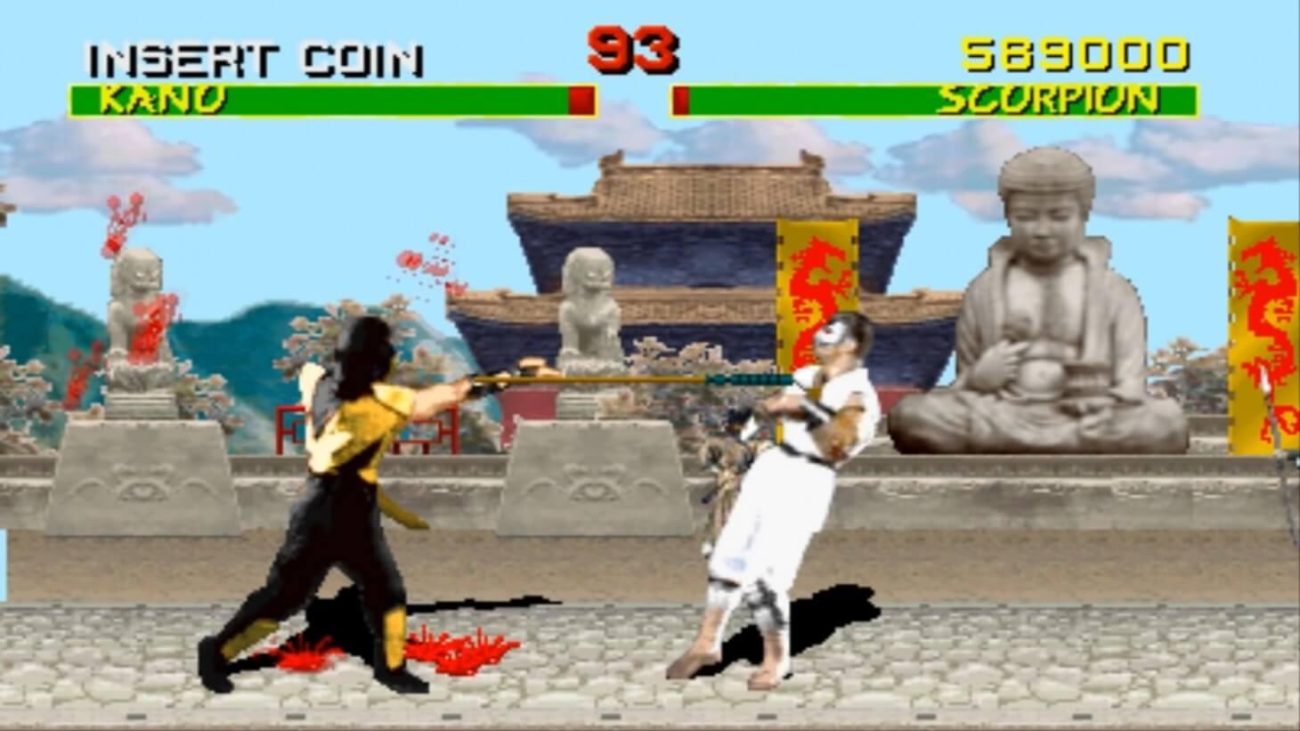 Así se creó el icónico movimiento de Scorpion en el primer Mortal Kombat